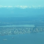 Seattle and Cascade Mountains