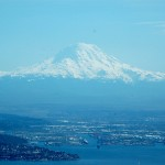 Tacoma and Mt. Rainier