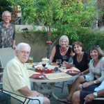 Palm Springs L-R: Terry,Tom,Janet,Doris,Marlys,Gregg