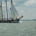 Clipper Aak near Marken