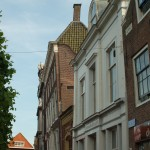 Leaning gable in Hoorn
