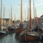 Botters and Brothers in Monnickendam for the Jan Haring race