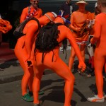 Only Dutch Men can look this good in Orange.