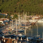 Marmaris with Netsel Marina in back