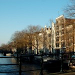 Brouwersgracht near Singel, on a beautiful fall afternoon