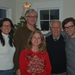L.R. Rose Marie, John, Lisa, Jack, Seth. Launching our new line of spectacle frames.