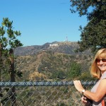 From Griffith Park observatory framed by my starlet guide