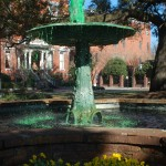 Spouting Green for Patty's Day, in Savannah