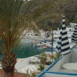 from my friend's apartment in Loutro