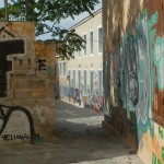 Athens is the Graffiti Capital of the Universe. A crying shame!