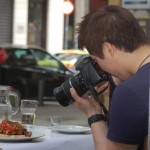 I'm not the only one who photographs his food, in Athens