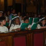 First Communion in Saint Dinosiyous (Denis) Catholic Cathedral, Athens
