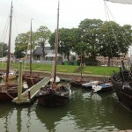 """Fleetwood"" with her Botter Brothers in Kampen"