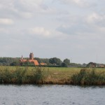 The typical West Flanders landscape, along the Scheldt river