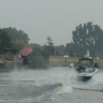 A full flip on the Hollandse IJssel river