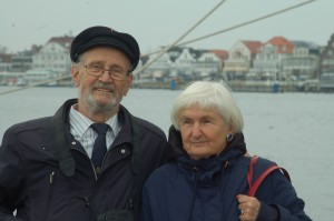 Wolfgang and Inge in Travemuende March 2nd