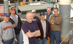 L.R. Kelley, Pete, Tom, Tom G. , Tim, Roger, Tom. missing Terry J and Ron R.